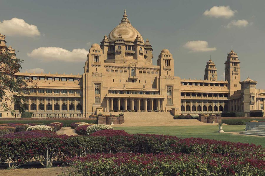 отель Umaid Bhawan Palace Jodhpur Джодхпур Индия