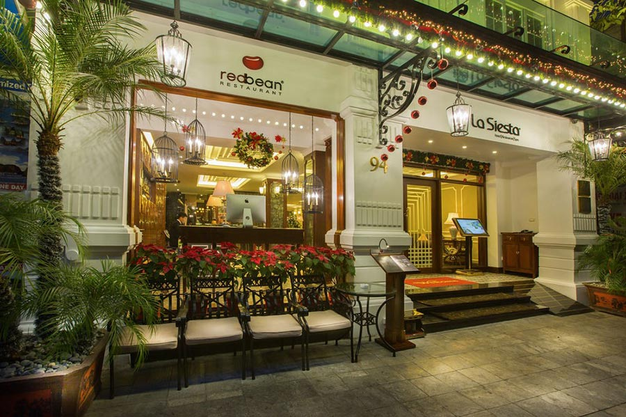 отель Hanoi La Siesta Hotel & Spa Ханой Вьетнам