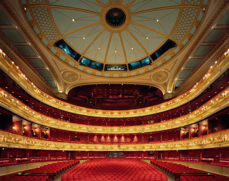 оперный театр opera house Королевский театр Ковент-Гарден