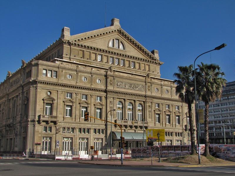 оперный театр opera house Колон Буэнос-Айрес Аргентина
