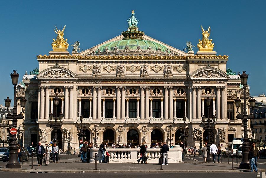 оперный театр opera house Опера Гарнье Париж