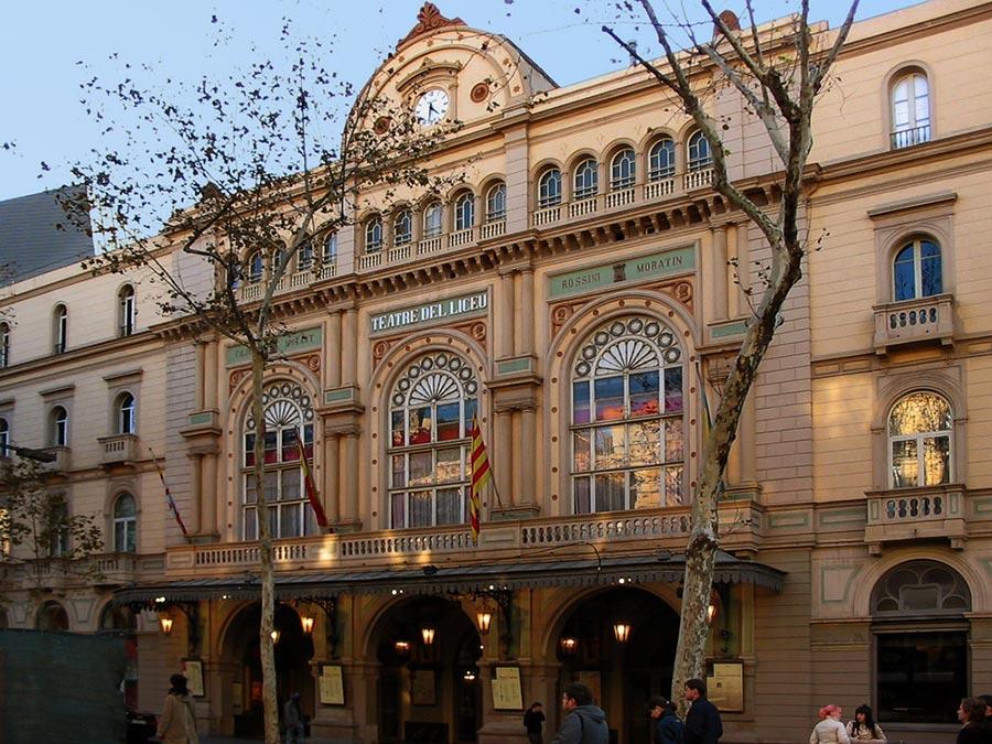 оперный театр opera house Лисео Барселона