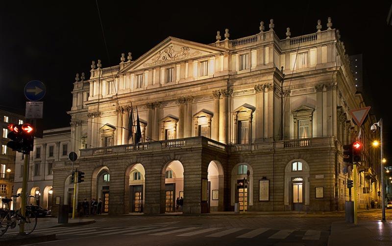 оперный театр opera house Ла Скала Милан