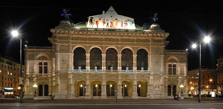 оперный театр opera house Венская государственная опера