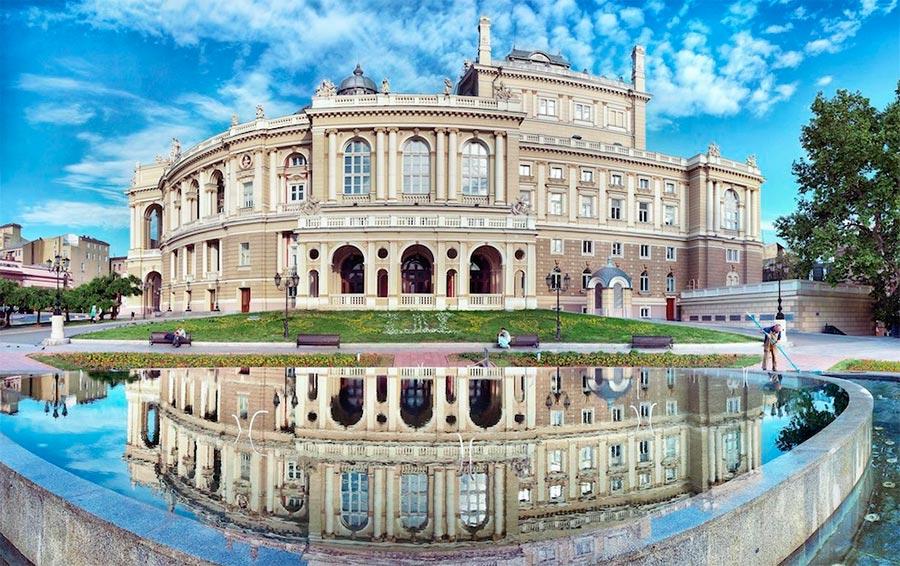 оперный театр opera house Одесский национальный академический театр оперы и балета