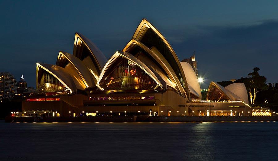 оперный театр opera house Сиднейский оперный театр