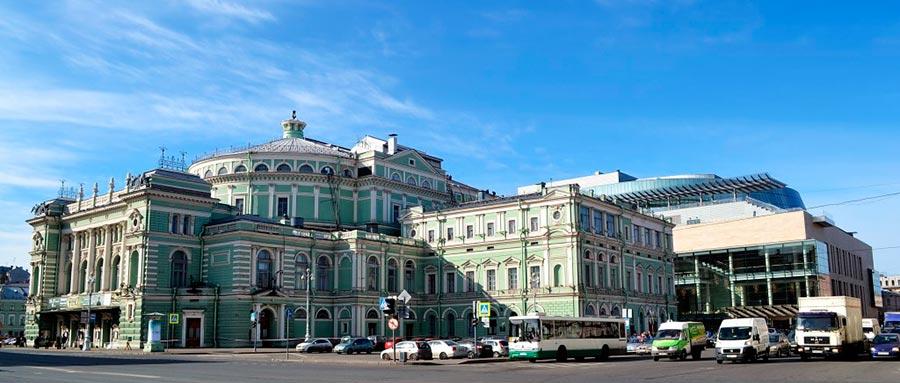 оперный театр opera house Мариинский театр Санкт-Петербург