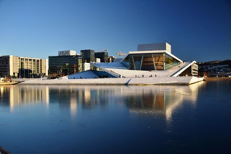 оперный театр opera house Оперный театр Осло