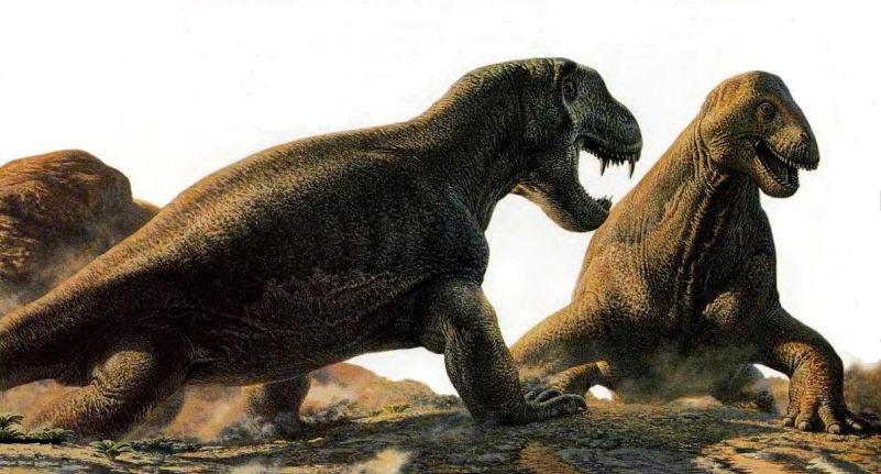 доисторические животные Мосхопс