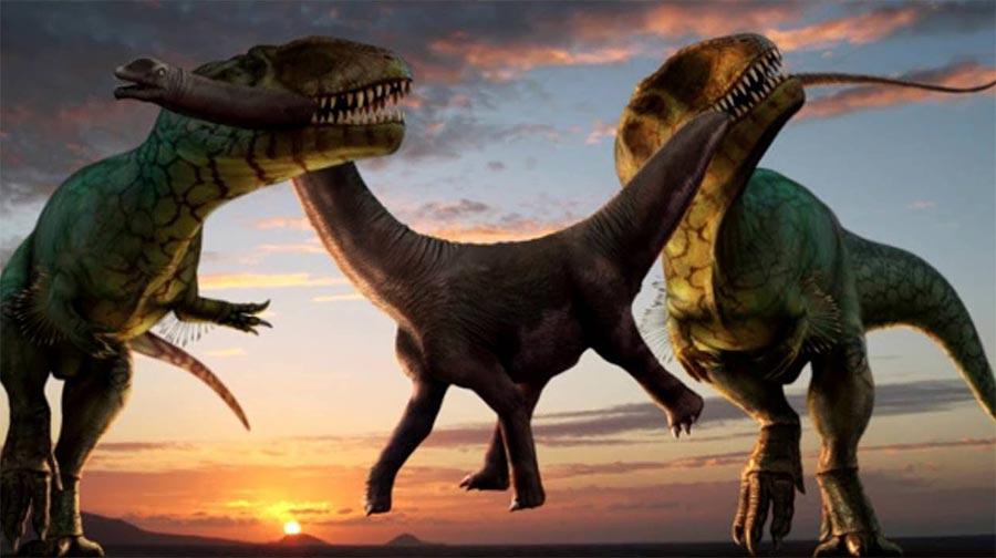 доисторические животные Гигантозавр