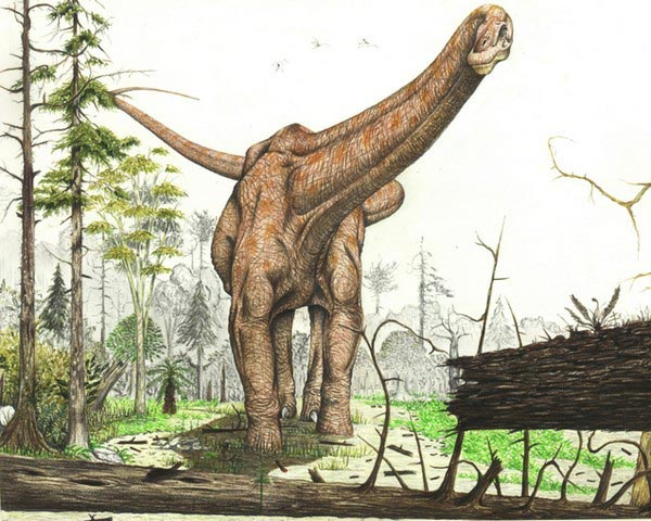 доисторические животные Амфицелий