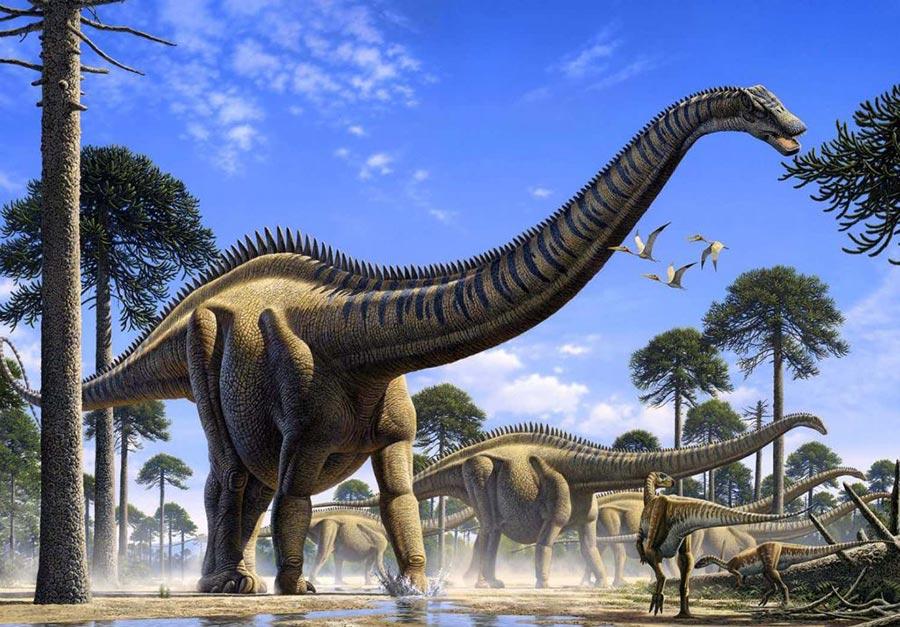 доисторические животные Футалогнкозавр
