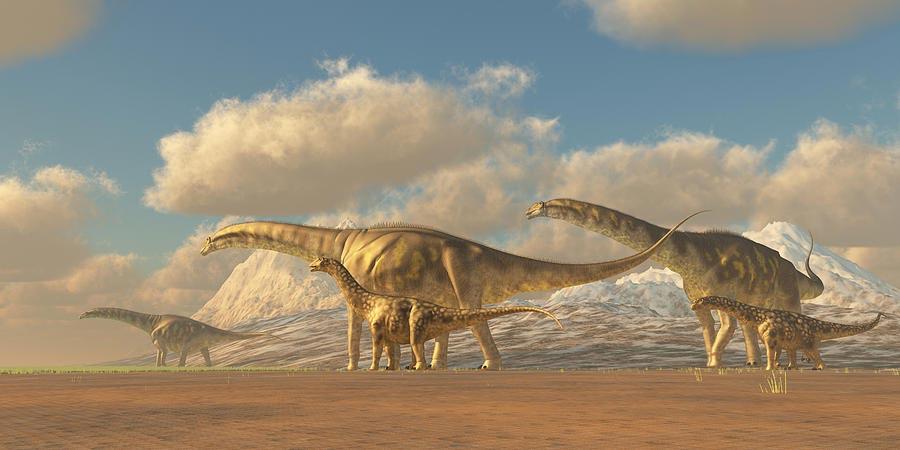 доисторические животные Аргентинозавр