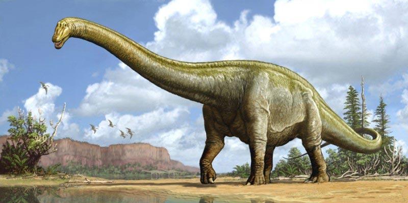 доисторические животные Диплодок