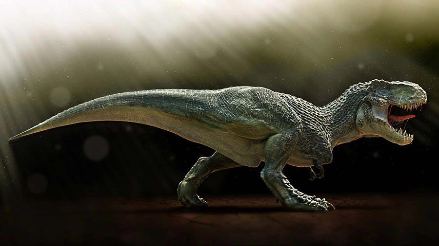 доисторические животные Тираннозавр