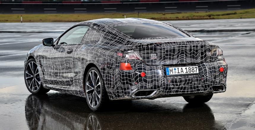 купе BMW восьмой серии