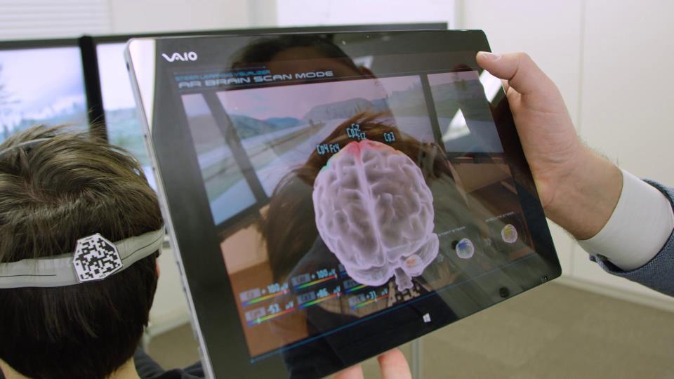 Nissan система управления автомобилем при помощи мыслей Brain-to-Vehicle