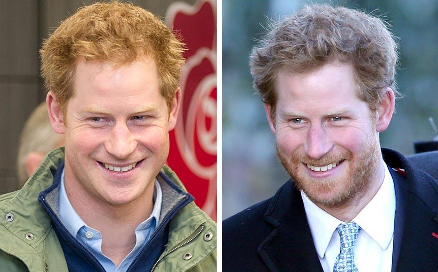 знаменитости с бородой принц Гарри