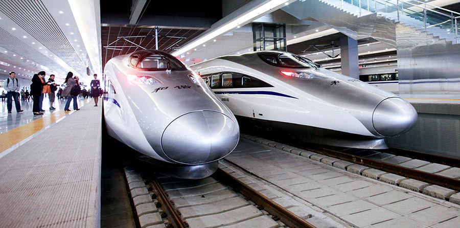 В Китае запустят маглев-поезд, развивающий скорость 600 км/ч