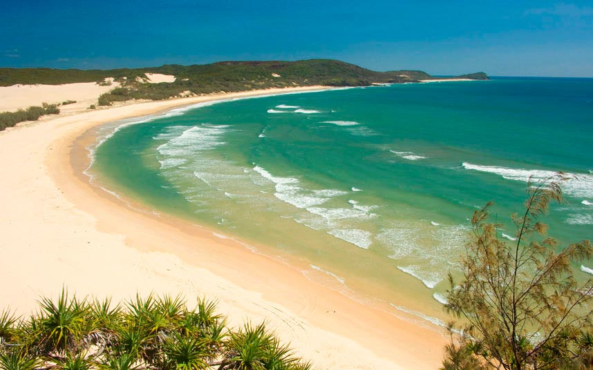 опасные пляжи в мире dangerous beaches in the world остров Фрейзер Австралия Fraser island Australia