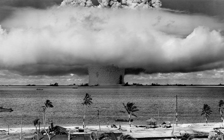 опасные пляжи в мире dangerous beaches in the world Атолл Бикини Маршалловы Острова США Bikini Atoll Marshall islands USA