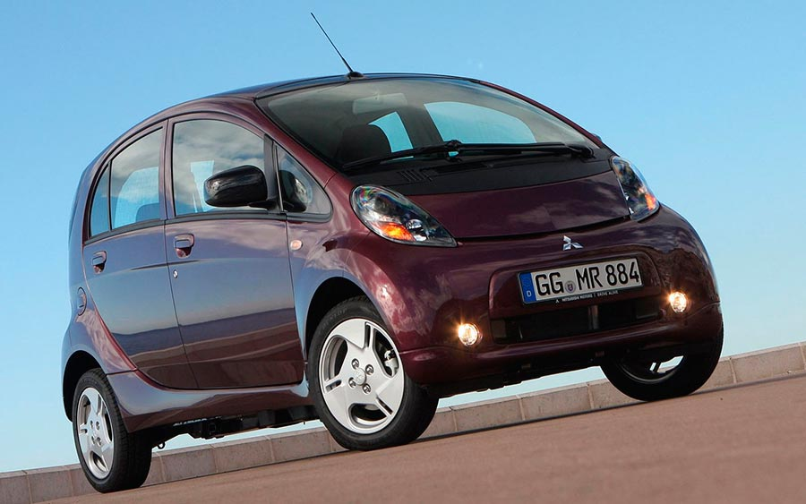 электромобили в России electric vehicles in Russia Mitsubishi i-MiEV