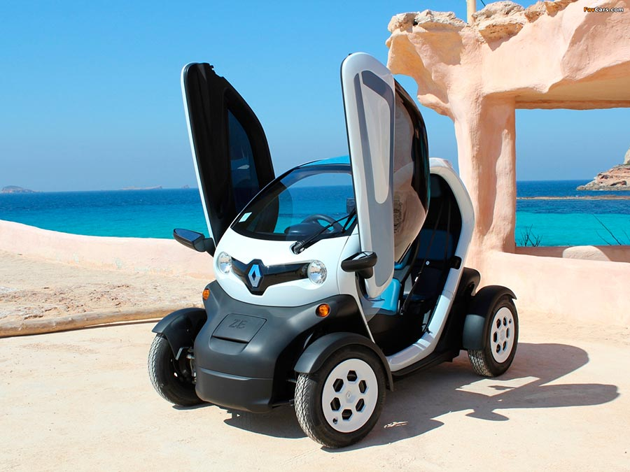 электромобили в России electric vehicles in Russia Renault Twizy