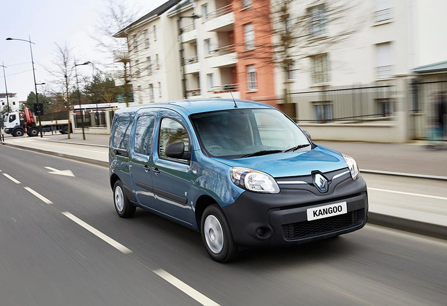 электромобили в России electric vehicles in Russia Renault Kangoo Z.E