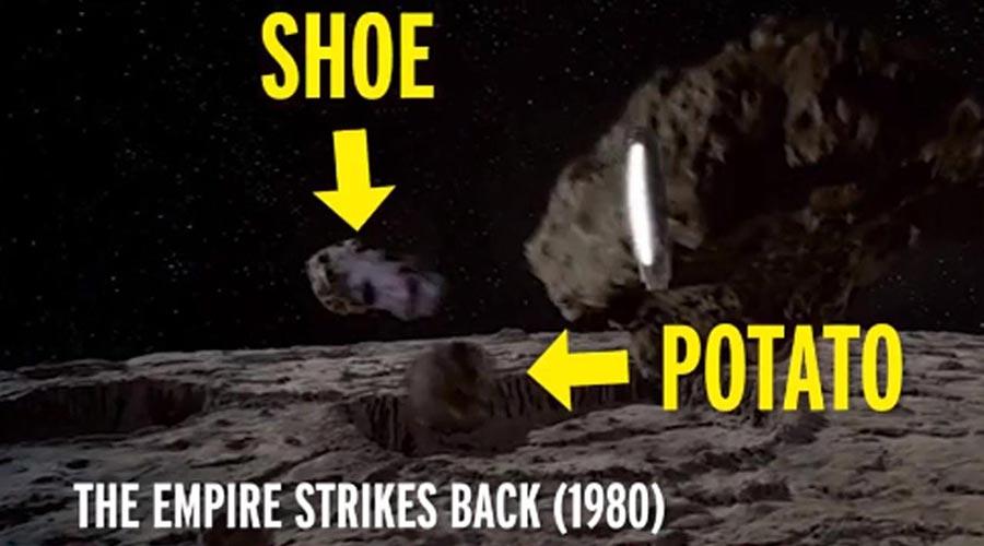 фильм компьютерная графика Звездные войны астероиды