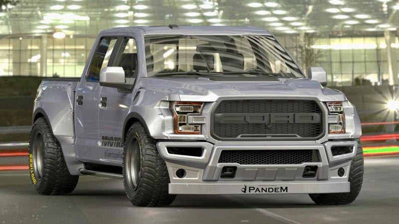 Ford F-150 Raptor Rocket Bunny тюнинг Pandem rocketbunny tra-kyoto