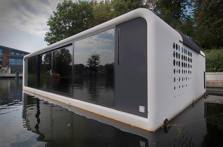 floodule футуристический дом на воде futuristic house on the water