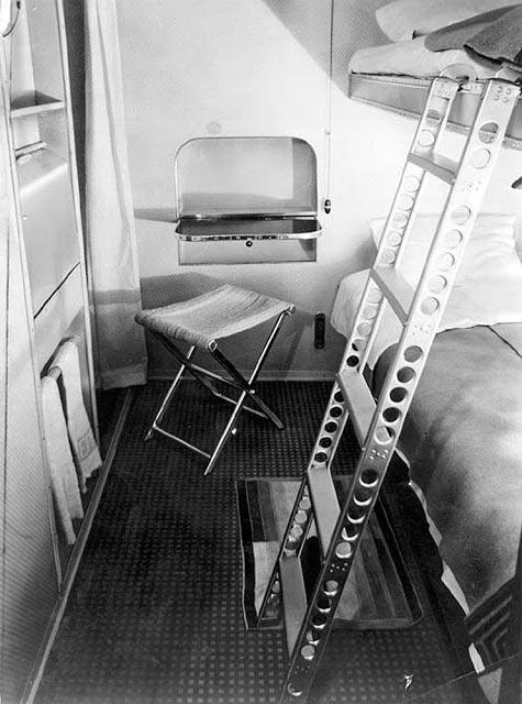Гинденбург цеппелин Hindenburg zeppelin пассажирская каюта passenger cabin