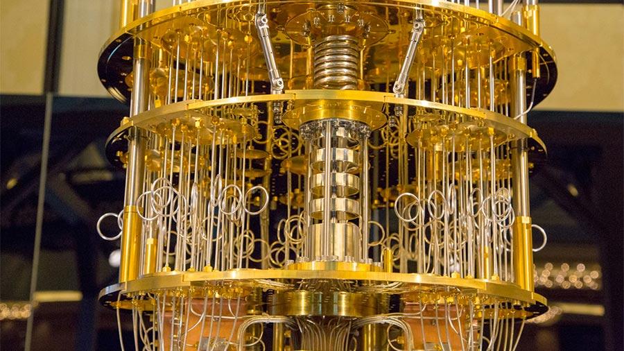 CES 2018 IBM продемонстрировала внутренности квантового компьютера