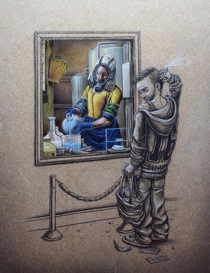 Вдохновение для создания великих картин
