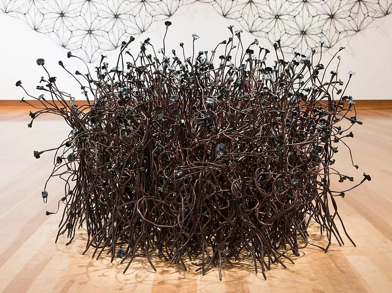 Джон Бисби: удивительные скульптуры из гвоздей