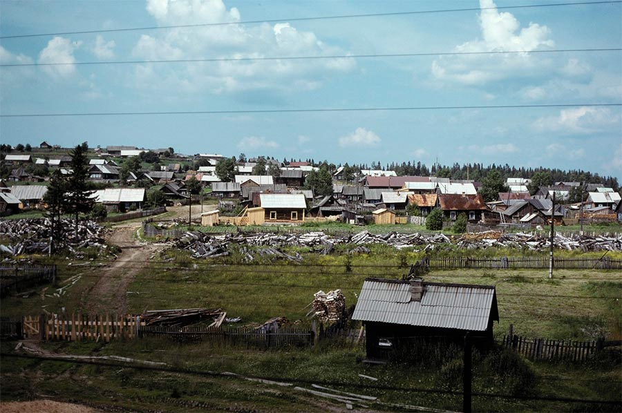 путешествие по Транссибу Уральская деревня