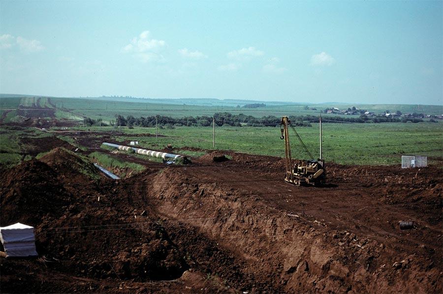путешествие по Транссибу Строительство газопровода восток от Перми