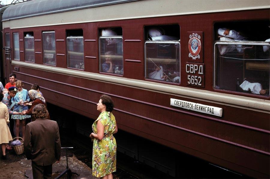 путешествие по Транссибу Ярославский вокзал Поезд Свердловск-Ленинград