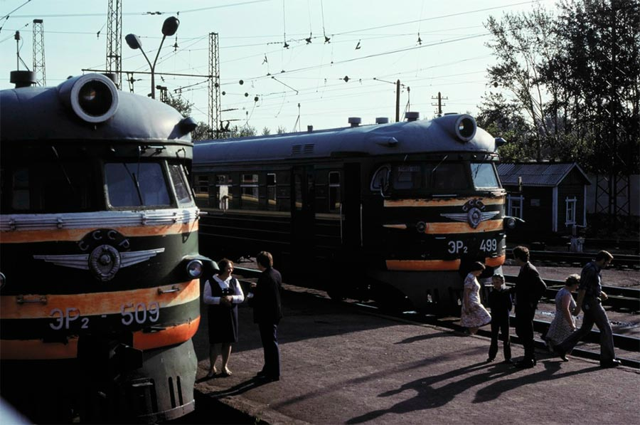 путешествие по Транссибу Омск поезда на станции