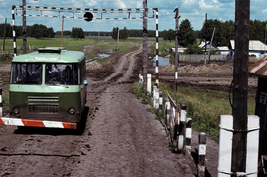 путешествие по Транссибу Барабинская степь