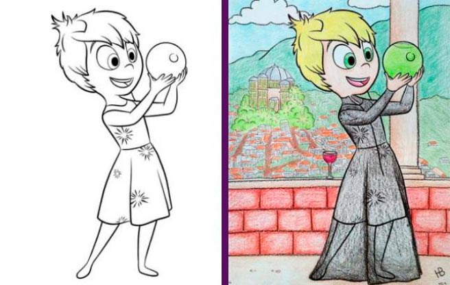 детские раскраски kid's coloring
