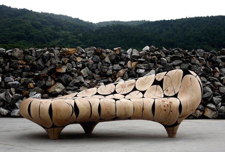 Ли Джейху скульптуры из дерева Lee Jaehyo wood sculptures