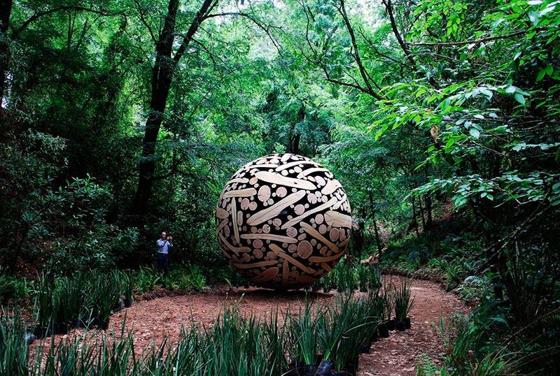Ли Джейху скульптуры из дерева Lee Jahy wood sculptures