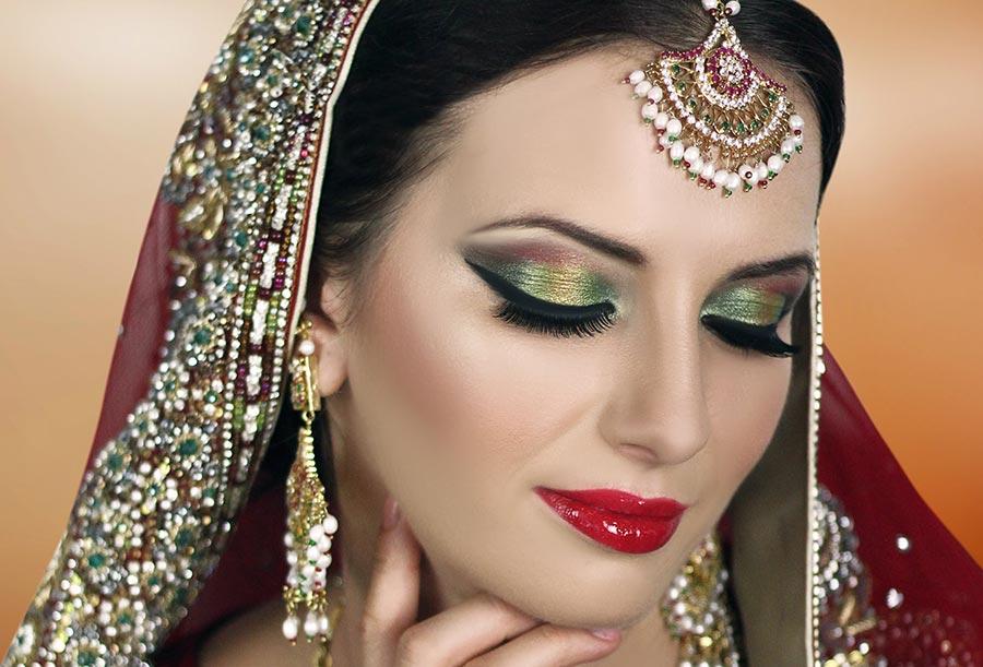 Стили макияжа Индия