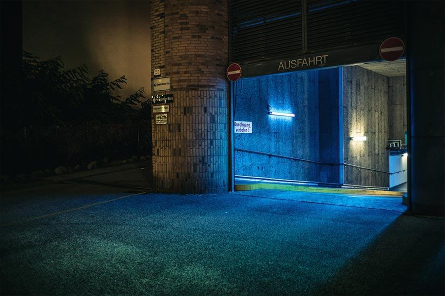 Mark Broyer Марк Бройер ночной Гамбург красота в обыденном