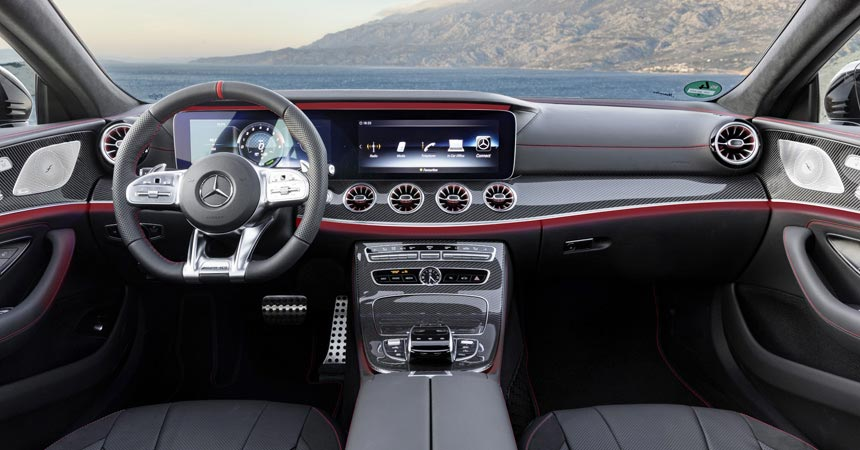 Mercedes-AMG CLS 53: гибрид среднего заряда