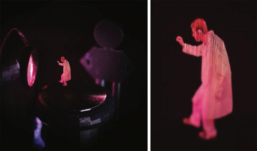 В США открыт метод создания парящих 3D-изображений