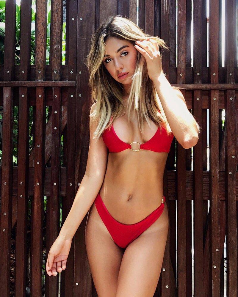 модель Надя model Nadia Mejia