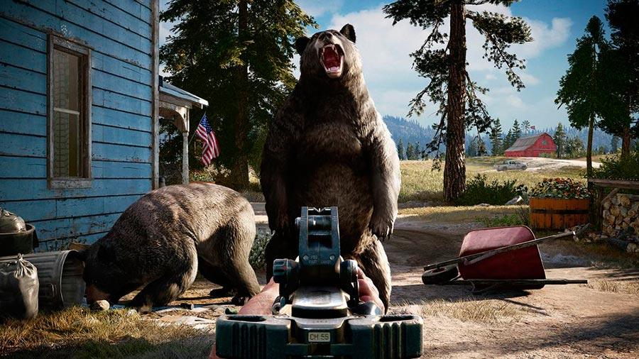 игры 2018 года Far Cry 5