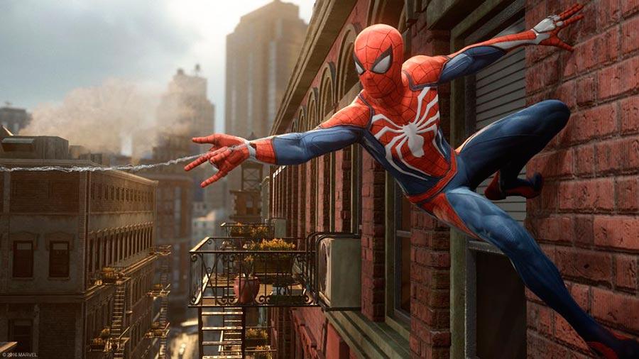 игры 2018 года Spider-Man